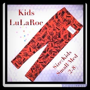 Kids LuLaRoe Halloween leggings BNWT🎃🎃